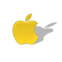 Apple-Logo-in-Yellow