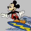 Mickey-Surfing