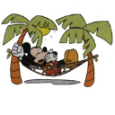 Mickey-In-Hammock