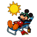 Mickey-Lounging