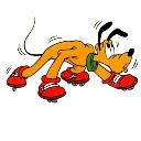 Pluto-Rollerskating