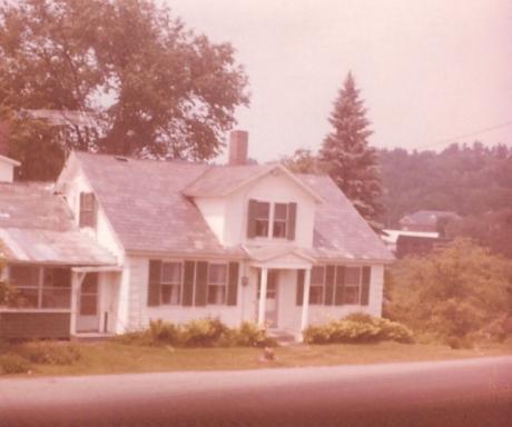 My grandparents' home in Hartland Vermont, circa 1972
